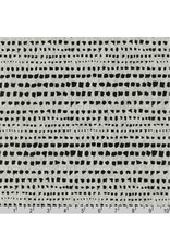 Anna Graham of Noodlehead Linen, Driftless, Paint Daubs in Charcoal, Fabric Half-Yards AFH-19020-184