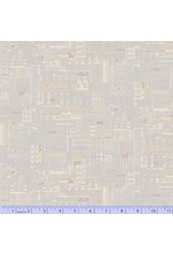Marcus Fabrics Faded and Stitched, Mainframe in Bone, Fabric Half-Yards 0762-0144