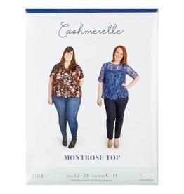 """Cashmerette Cashmerette """"Montrose Top"""" Paper Pattern"""