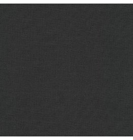 Robert Kaufman Kona Cotton in Charcoal, Fabric Half-Yards K001-1071