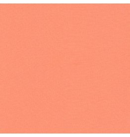 Robert Kaufman Kona Cotton in Creamsicle, Fabric Half-Yards K001-185