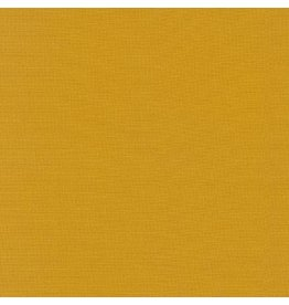 Robert Kaufman Kona Cotton in Curry, Fabric Half-Yards K001-1677