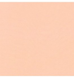 Robert Kaufman Kona Cotton in Ice Peach, Fabric Half-Yards K001-1176