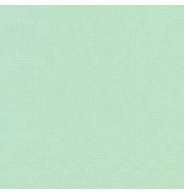 Robert Kaufman Kona Cotton in Seafoam, Fabric Half-Yards K001-1328