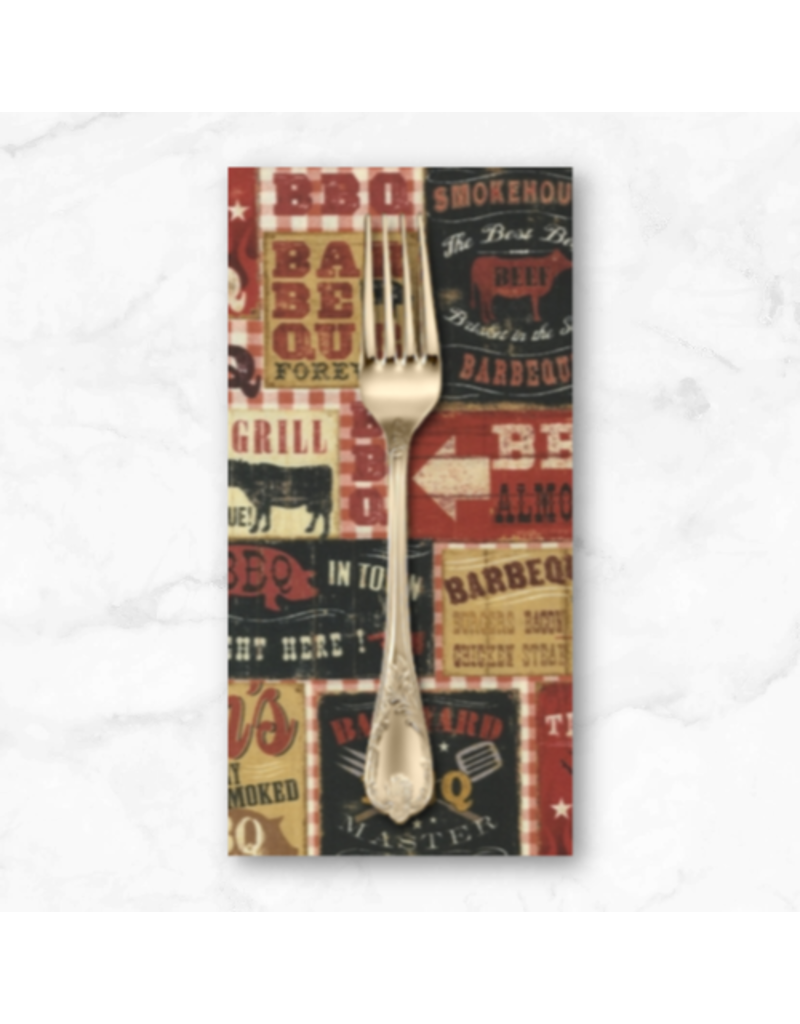 PD's Robert Kaufman Collection Cheers, BBQ in Spice, Dinner Napkin