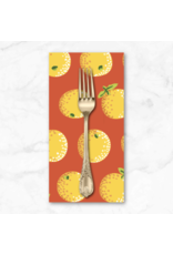 PD's Kaffe Fassett Collection Kaffe Collective 2020, Oranges in Yellow, Dinner Napkin