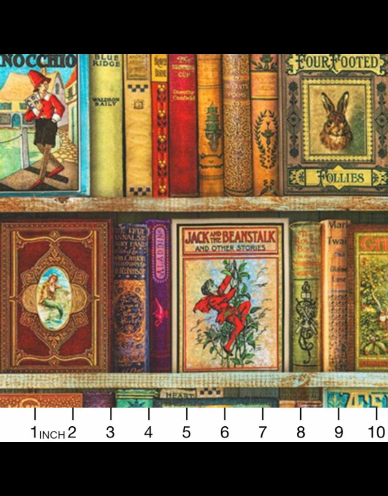 Robert Kaufman Library of Rarities, Favorite Books in Antique, Fabric Half-Yards ATXD-19600-199