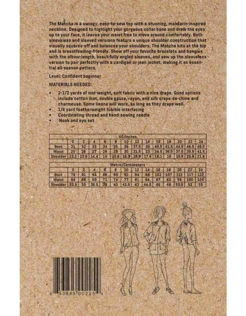 Sew Liberated Sew Liberated Matcha Top Pattern