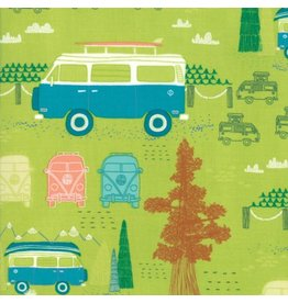 Moda Pacific Wanderings, Camping in Fern, Fabric Half-Yards 13322 15