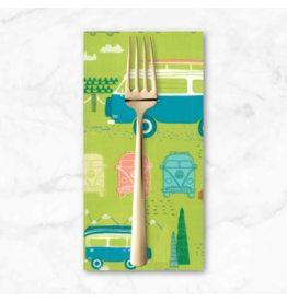 PD's Moda Collection Pacific Wanderings, Camping in Fern, Dinner Napkin