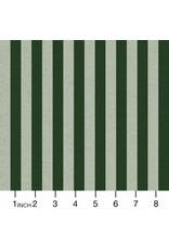 Rifle Paper Co. Linen/Cotton Canvas, Primavera, Cabana Stripe in Mint, Fabric Half-Yards RP309-MI4C