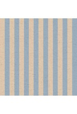 Rifle Paper Co. Linen/Cotton Canvas, Primavera, Cabana Stripe in Periwinkle, Fabric Half-Yards RP309-PE5C
