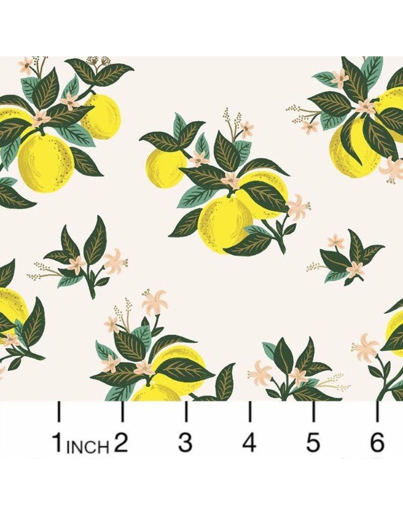 PD's Rifle Paper Co Collection Primavera, Citrus Blossom in Lemon, Dinner Napkin