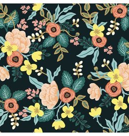 Rifle Paper Co. Primavera, Birch in Black, Fabric Half-Yards RP304-BK1