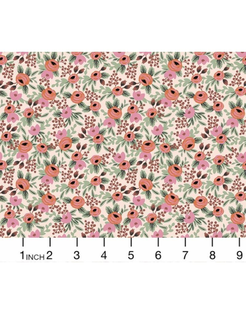 PD's Rifle Paper Co Collection Primavera, Rosa in Blush, Dinner Napkin