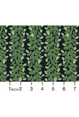 Rifle Paper Co. Primavera, Climbing Vines in Black, Fabric Half-Yards RP307-BK2