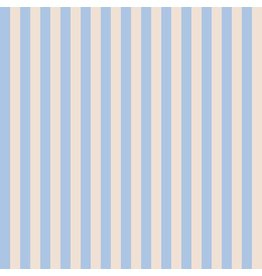 Rifle Paper Co. Primavera, Cabana Stripe in Periwinkle, Fabric Half-Yards RP309-PE2