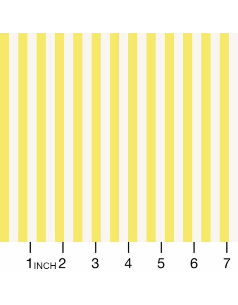 Rifle Paper Co. Primavera, Cabana Stripe in Yellow, Fabric Half-Yards RP309-YE3