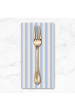 PD's Rifle Paper Co Collection Primavera, Cabana Stripe in Periwinkle, Dinner Napkin