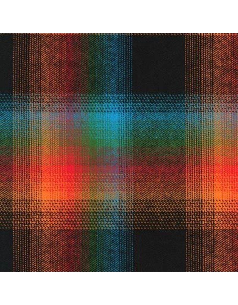 Robert Kaufman Yarn Dyed Cotton Flannel, Durango Flannel in Adventure, Fabric Half-Yards SRKF-17614-267