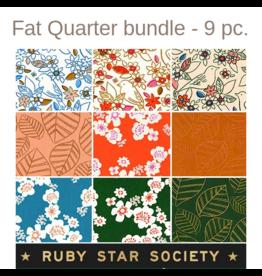 Ruby Star Society for Moda Aviary Fat Quarter Bundle from Ruby Star Society - 9pcs.
