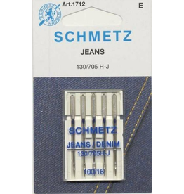Schmetz 1712 Jeans Denim Needles - 5 count