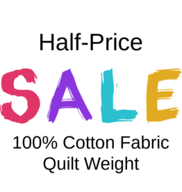 Fabric on Sale,100% Cotton, Quilt Weight, as suggested by many face mask patterns