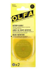Olfa Rotary Replacement Blade 45mm - 2ct