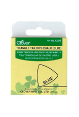 Clover, Triangle Tailor's Chalk - Blue