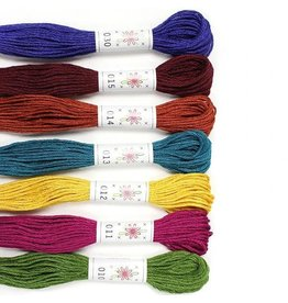 Sublime Stitching Embroidery Floss Set, Laurel Canyon Palette - Seven 8.75 yard skeins, from Sublime Stitching