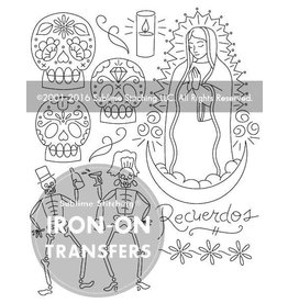 Sublime Stitching Embroidery Iron-On Transfers, Dia de los Muertos, from Sublime Stitching