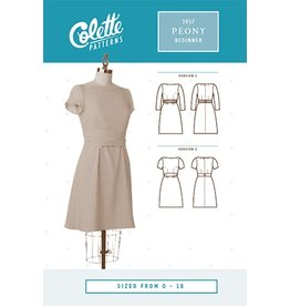 Colette Patterns Colette's Peony - 1017 Pattern