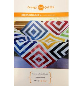 Orange Dot Quilts Orange Dot Quilt's Motherboard Pattern