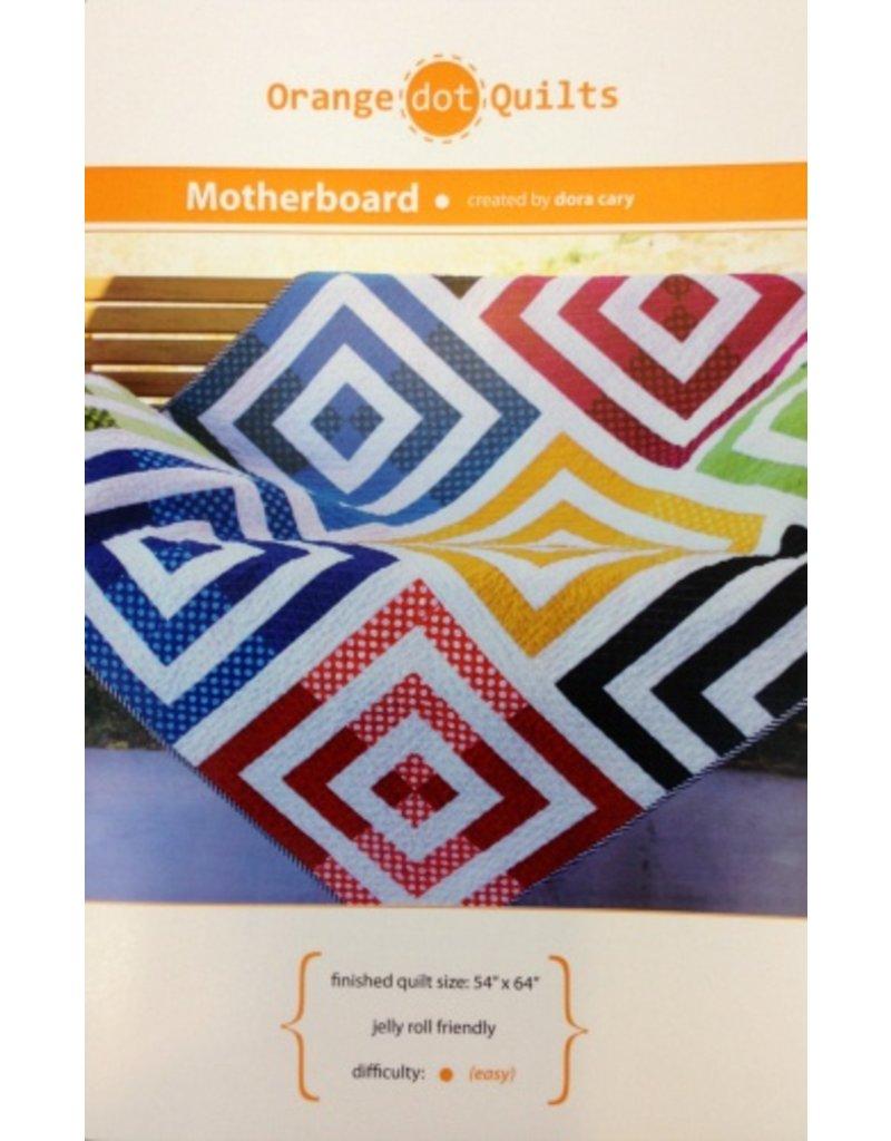 Orange Dot Quilts Orange Dot Quilt's Motherboard Pattern