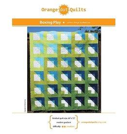 Orange Dot Quilts Orange Dot Quilt's Boxing Play Pattern