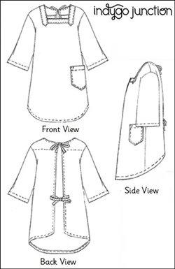 Indygo Junction Indygo Junction's Sixties Smock Apron Pattern