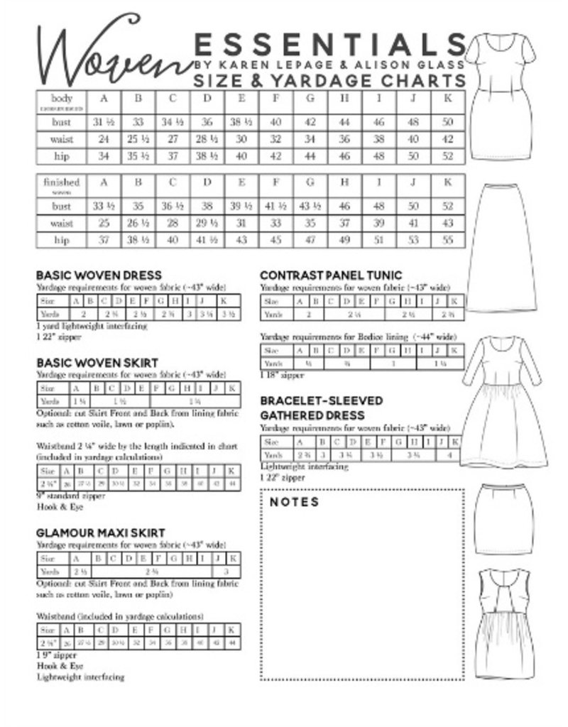Alison Glass ON SALE 50% OFF - Alison Glass's Woven Essentials Pattern Book