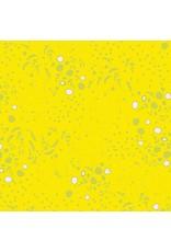Alison Glass Sun Print, Grove in Yellow, Fabric Half-Yards