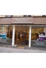 Frou-Frou, France Cotton Poplin, Uni by Frou-Frou in Black, Fabric Half-Yards