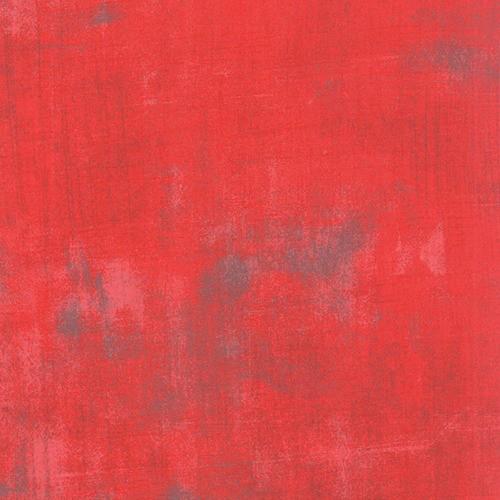 Moda Grunge in Geranium, Fabric Half-Yards 30150 290