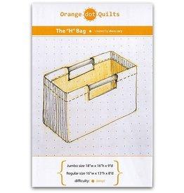Orange Dot Quilts MORE ON ORDER-Orange Dot Quilt's The H-Bag Pattern