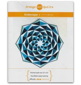 Orange Dot Quilts Orange Dot Quilt's Arabesque Pattern with templates