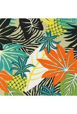 Sevenberry Island Paradise, Pineapples in Khaki, Fabric Half-Yards SB-4148D2-3