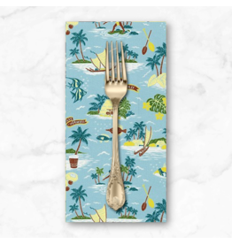 PD's Sevenberry Collection Island Paradise, Aloha Hawaii in Mist, Dinner Napkin