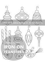Sublime Stitching Embroidery Iron-On Transfers, Vintage Ornaments, from Sublime Stitching