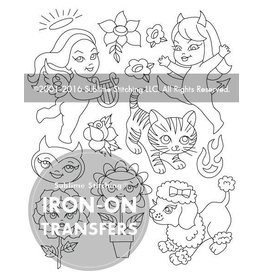 Sublime Stitching Embroidery Iron-On Transfers, Lisa Petrucci designs, from Sublime Stitching