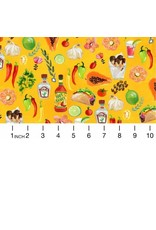 PD's August Wren Collection Viva Mexico!, Taco Time in Multi, Dinner Napkin