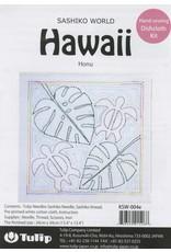 Tulip Sashiko World, Hawaii Honu (Turtle) Sashiko Kit, by Tulip