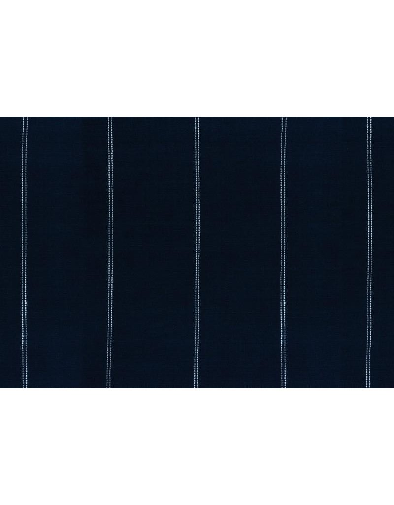 "Moda Woven Toweling, 16"", Picnic Point Tea in Navy  992 235, Sold by the Yard"