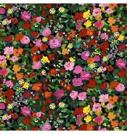Michael Miller Eat, Sleep, Garden, Garden Party in Multi, Fabric Half-Yards DCX9066
